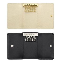 China 2017 Wholesale original box luxury multicolor short wallet six key holder women men's classic zipper pocket key chain free shipping 62630 supplier luxury key wallet suppliers