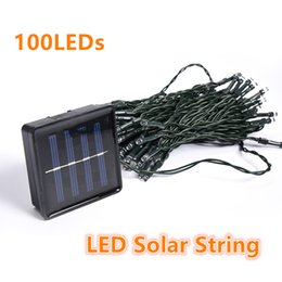 $enCountryForm.capitalKeyWord NZ - 120CM 100 LED Solar Powered Panel LED String Light Christmas Holiday Lights Outdoor Lighting for Garden Decoration