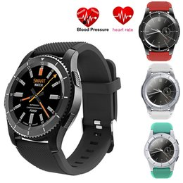 $enCountryForm.capitalKeyWord NZ - 2017 No.1 G8 Smartwatch Bluetooth 4.0 SIM Call Message Push Heart Rate Monitor Smart watches For Android IOS Smartphones