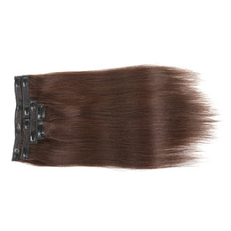 $enCountryForm.capitalKeyWord UK - 7A Grade 7pcs set  70g set & 5set one Lot Indian human hair Color #1B,2, 4,14,24,27,60,613,P14 613 Clip In Hair Extensions