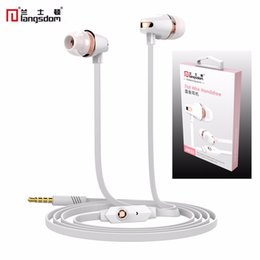 Auriculares Apple Canada - Original Langston JM23 stereo earphones With Mic For Xiaomi Samsung iPhone Audifonos Fone De Ouvido Auriculares