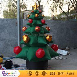 Envío gratis 2.2 M de alta inflable árboles de navidad de alta calidad volar decoraciones de navidad para juguetes de pantalla