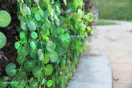 $enCountryForm.capitalKeyWord Canada - Length of 250 cm Artificial Silk Begonia vine Simulation Wall Hanging Plant Green Leaf Ivy Rattan for Home Bar Restaurant Decoration