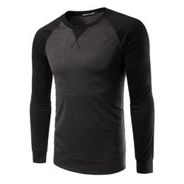 Mens long bottoM t shirt online shopping - Man Top Tees Slim Fit T Shirt Men Bottoming O Neck Shirt Fashion Mens Hoodie Autumn Winter Hip Hop Sportwear Hoodies