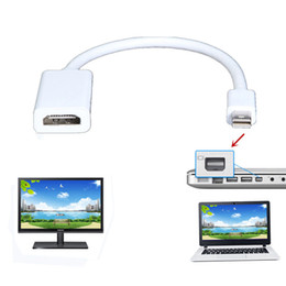 Iphone Hdmi Adapters Canada - 1080P HDMI HDTV Video Converter Adapter Cable For Apple Macbook Pro Air iMac TV