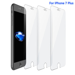 $enCountryForm.capitalKeyWord NZ - For Iphone 6 7 8 Plus High Quality Tempered Glass Screen Protector 2.5D Anti Fingerprint Mixed Types Factory Foam Pack--YH0073