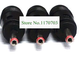 usb cable female dc UK - 200 pcs DC 5.5x2.1mm Female to 3.5x1.35mm Male Power Connector Plug