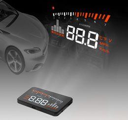 "$enCountryForm.capitalKeyWord Australia - Auto Car HUD X5 3"" Universal Auto Car HUD Head Up Display X3 Overspeed Warning Windshield Project Alarm System OBD2 OBD II EOBD Interface"