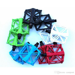 flying bicycle NZ - Hot Sale Mountain Bike Non-slip Pedal All Aluminum Alloy Bicycle Pedal Dead Flying Bicycle Aluminum Pedal Cycling 5 Colors