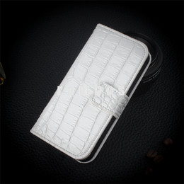 cell phone pouch pu leather Canada - For iphone 8 X Wallet Crocodile Grain PU Leather Cell Phone Case Cover Pouch with Credit Card Holder for iPhone X   8