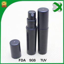 wholesale 2ml black pp plastic spray bottle 2ml small black perfume bottle 2ml black mini spray bottle