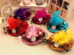 $enCountryForm.capitalKeyWord Canada - 6 Colour Hat Hair Ornaments Baby Blingbling Headbands Accessories Girls Cute Flower The Little Baby Headbands Baby Hair 2016 Hot New Summer