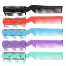 $enCountryForm.capitalKeyWord UK - Wholesale- Top Sale New Hair Razor Comb Cutter Cutting Thinning Shaper Haircut Grooming Men Women Free Shipping