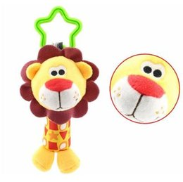 Bell Monkey UK - wholesale Baby Toys Rattle Tinkle Hand Bell Multifunctional Plush Stroller Mobile toy Gifts