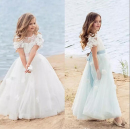 $enCountryForm.capitalKeyWord Canada - 2017 Kids First Communion Dresses for Little Girls Long Cute Flower Girl Dress Custom Made