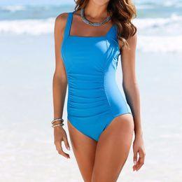 $enCountryForm.capitalKeyWord NZ - 2017 Women Blue High Waist Backless Large Size Bathing Suit Brazilian Monokini Swimsuits Swimwear Bodysuit One Piece S M-XL