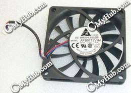 $enCountryForm.capitalKeyWord NZ - Free Shipping Laptop Ventilator Cooling Fan For Delta Electronics AFB0712VHA 4E16 DC12V 0.27A 7010 7mm 7CM 70x70x10mm 3Pin 3Wire Cooling Fan