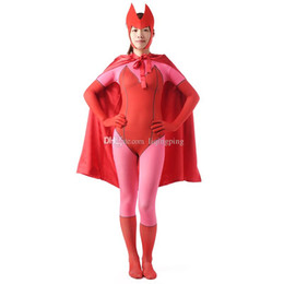 $enCountryForm.capitalKeyWord Australia - Brand New 2016 Pink Female Full Body Zentai Suit Lycra Spandex Cosplay Party Costume For Halloween