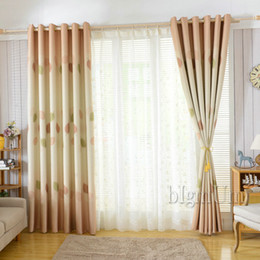 New Arrival Rustic Pastoral Window Curtains For Living Room Blackout Curtains Window Treatment Drapes Home Decor Free Shipping Rustic Kitchen Curtains