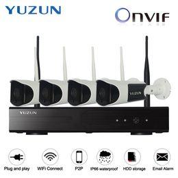 IP аудио Макс 300 м каскадный режим домашней безопасности камеры видеонаблюдения сигнализация главная cctv комплект с ночного видения водонепроницаемый