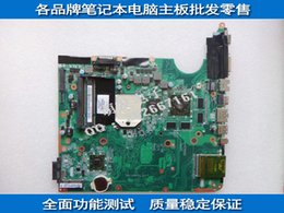 motherboard for laptop hp Canada - 509450-001 board for HP PAVILION DV6 DV6-1000 series laptop motherboard with AMD chipset free shipping