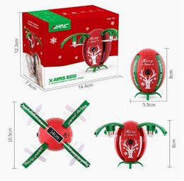 Wifi Electric Australia - JJRC H66 Christmas Gift Egg Drone 720P Wifi FPV Remote Control 2.4G 4 Axis Altitude Hold RC Quadcopter