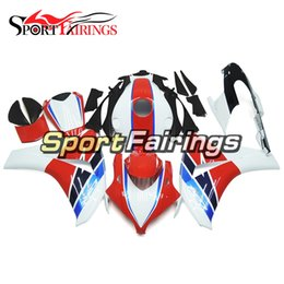 Black White Motorbike Fairing Canada - Full Fairings Red Black White Covers For Honda CBR1000RR Year 2008 2011 08 09 10 11 ABS Motorcycle Fairing Kit Bodywork Motorbike Cowlings