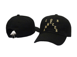 Chinese  New arrival pablo Houston baseball caps Pablo Los Angeles snapback caps I feel like Pablo hats men women hat drake hats trucker caps manufacturers