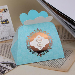 "$enCountryForm.capitalKeyWord Australia - Gift Favours Boxes Gift Package Wedding Candy Boxes ""Save The Date"" Wedding Favor Box Paper Box Free Shipping"