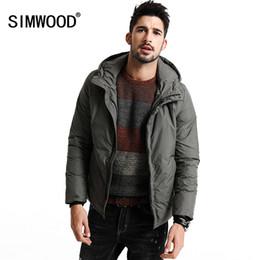 $enCountryForm.capitalKeyWord Canada - Wholesale- SIMWOOD New Winter 90% White Duck Down Coats Men Jacket Warm Thick Slim fit Brand Clothing YR1002