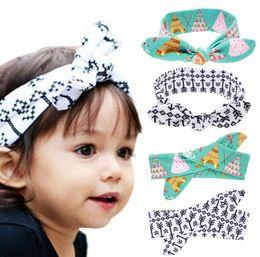 $enCountryForm.capitalKeyWord Canada - New Europe Fashion Baby Head Bands Bunny Ear Knot Tent Arrows Pattern Infant Headband Kids Hair Band Headwear Children Hair Accessory