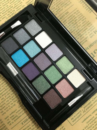nude brand eyeshadow Canada - 15 Colors Makeup Kit Eye shadow Palette for nude makeup Shimmer Eyeshadow brand mineral eyeshadow kit daily makeup nake eye makeup with eyes
