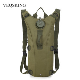 NyloN water bladder online shopping - 3L Water Bag Outdoor Tactical Hydration Backpack Camping Camelback Nylon Cycling Camel Water Bladder Bag Colors