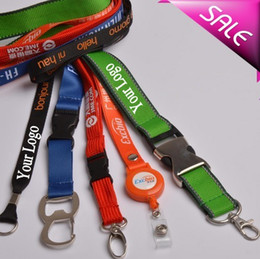 Wholesale Designer Customized Blank Key Chains Lobster Clasp Key Chain Nylon Hanging Printing Belt Lanyard Exhibition Badge Sling Personalized Gifts