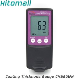 Coating Thickness Meter NZ - Wholesale-Fe NFe 2 in One Handheld Coating Thickness Gauge Painting Thickness Measurement Film Thickness Meter Car Paint Tester CM8801FN
