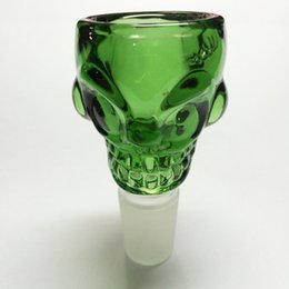 $enCountryForm.capitalKeyWord Canada - Skull Glass Bowls 14mm 18mm glass water pipes male bowl large capacity for oil rings Glass Bongs Thickness 7mm