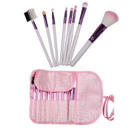 Wholesale Hot Selling Professional Pink Women Makeup Brush Set Cosmetic Tools Brushes for Face Beauty And Eye Shadow Lady s Gift