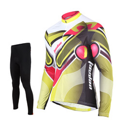 $enCountryForm.capitalKeyWord Canada - Tasdan Cycling Team Jerseys Custom Long Sleeve Top Full Jersey and Cycling Padded Pants Clothing Men