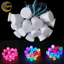 Christmas Lights 20mm Led Pixel Light Source Led String Light Decorative  String Party Milky Smd5050 Dc5v Free Shipping