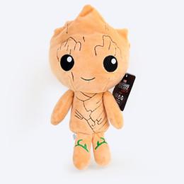 $enCountryForm.capitalKeyWord NZ - New Arrival Super Cute Guardians of the Galaxy Plush Toys Cartoon Groot Treeman Raccoon Stuffed Animal Movie Doll Baby Toy gifts 4 Designs