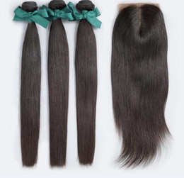 $enCountryForm.capitalKeyWord NZ - Cool 8A High Quality Indian Straight Hair with Silk Base 4*4 Lace closure No Shedding Free Tangle Full And Thick Free Shipping Fee