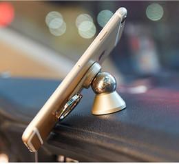 Universalmagnetkugel 360 ° drehen Handyringhalter-Autoberg für iphone 8 Handys und Minitabletten kreatives Klammergeschenk
