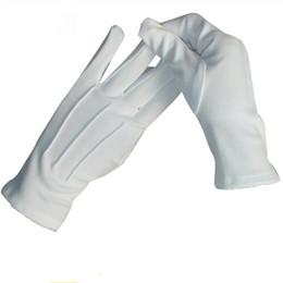 $enCountryForm.capitalKeyWord Canada - 10 Pairs Spring and Summer unisex white Etiquette gloves elastic gloves wholesale