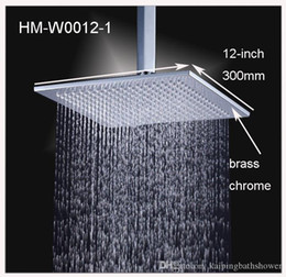 12 Inches Brass High Quality Rain Shower Head With Shower Arms