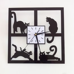 new wall clock quartz watch large decorative diy clocks acrylic mirror modern reloj de pared 3d stickers living room