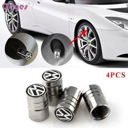 Автомобильные аксессуары колеса шины клапаны шин стволовых воздуха шапки чехол для Volkswagen vw polo passat b5 b6 стайлинга автомобилей 4 шт. / лот