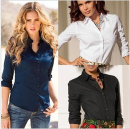 Discount Collared Work Shirts For Women | 2017 Collared Work ...