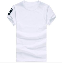 Wholesale o neck t shirt men for sale - Group buy High quality cotton new O neck short sleeve t shirt brand men T shirts casual style for sport men T shirts