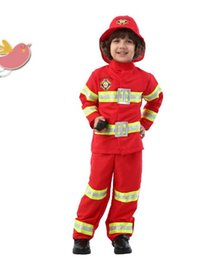 2017 fireman sam halloween costumes fireman sam costume for kids carnival halloween costume for girl boy - Fireman Halloween