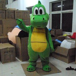 $enCountryForm.capitalKeyWord Canada - New style Yoshi Dinosaur mascot costume Adult size green Dinosaur cartoon costume Party fancy dress factory direct sale